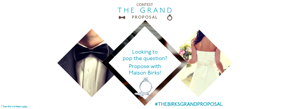 Contest - The Grand Proposal